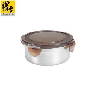 鍋寶 316不鏽鋼保鮮盒圓形