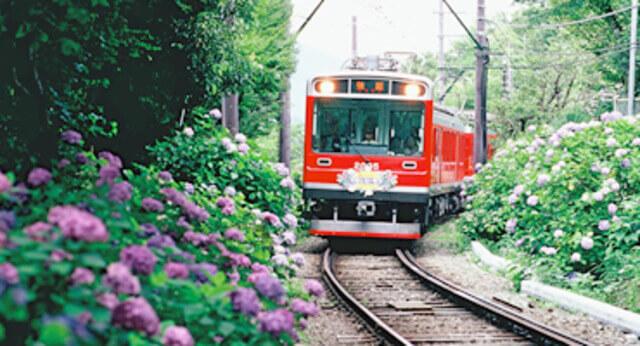 箱根景點 箱根登山電車