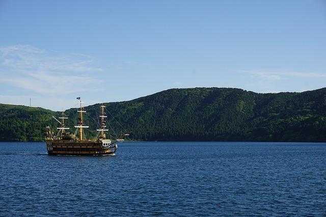 箱根景點 蘆之湖