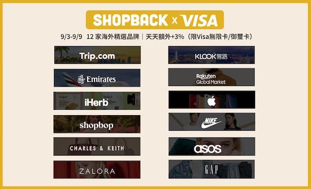 shopback Visa 優惠