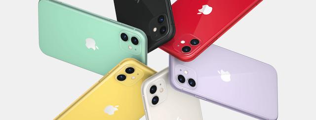 iphone 11 色彩選擇