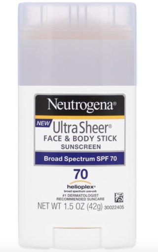 Neutrogena, 輕透抗曬棒