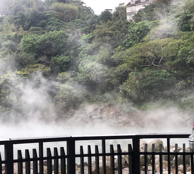台北捷運一日遊 地熱谷