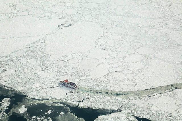圖片來源:流氷観光砕氷船おーろら官方粉絲頁