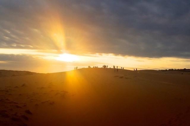 南越 紅沙丘