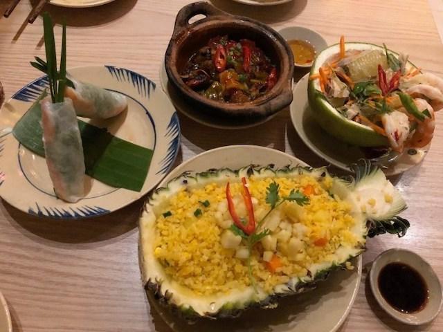 越式料理:den long restaurant