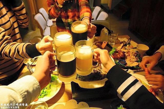 路德威手工啤酒餐廳-外燴 buffet 戶外婚禮