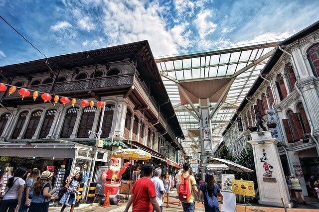 新加坡牛車水 史密斯街