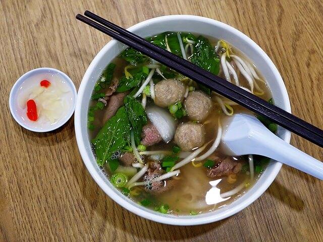 新加坡牛車水 牛肉粿條