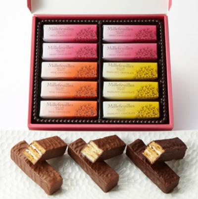 巧克力 千層派