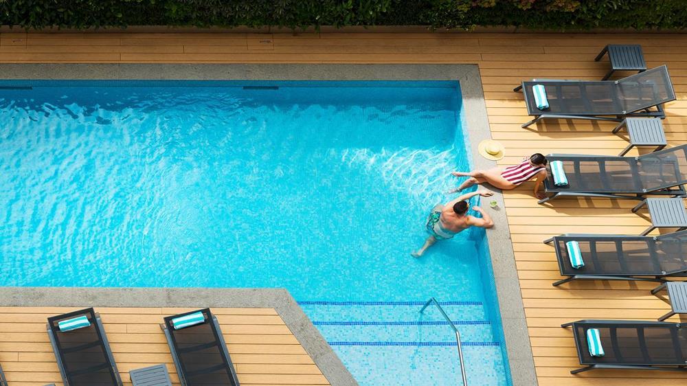 游泳池 飯店 雪梨