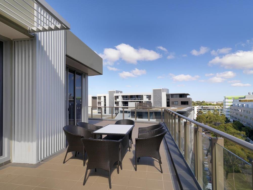 飯店 露臺 藍天 雪梨
