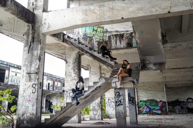 階梯 廢墟 返校 電影 打卡 景點