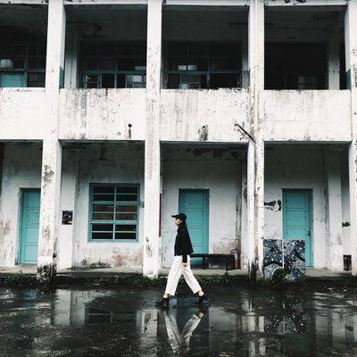 碩仁國小 廢墟 返校 電影 打卡 景點