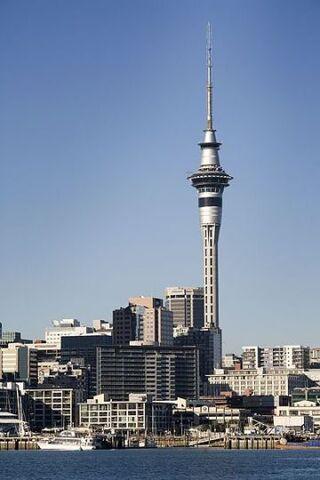 紐西蘭 奧克蘭 天空塔
