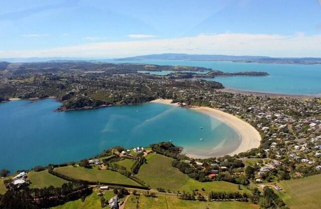 紐西蘭 奧克蘭 懷赫科島