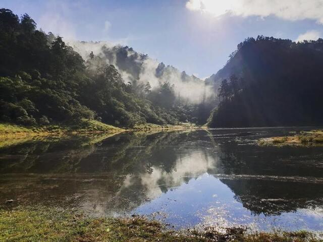 松蘿湖 宜蘭走春景點