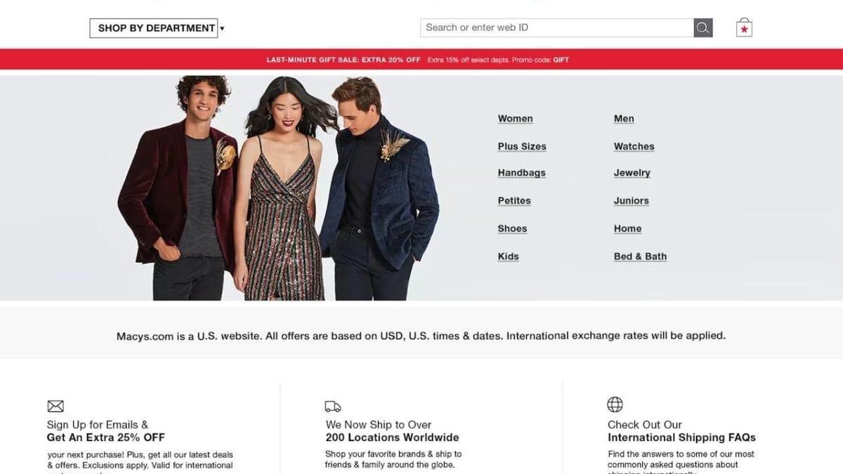 Macy's 梅西百貨線上購物教學:註冊下單、退換貨、現金回饋教你拿