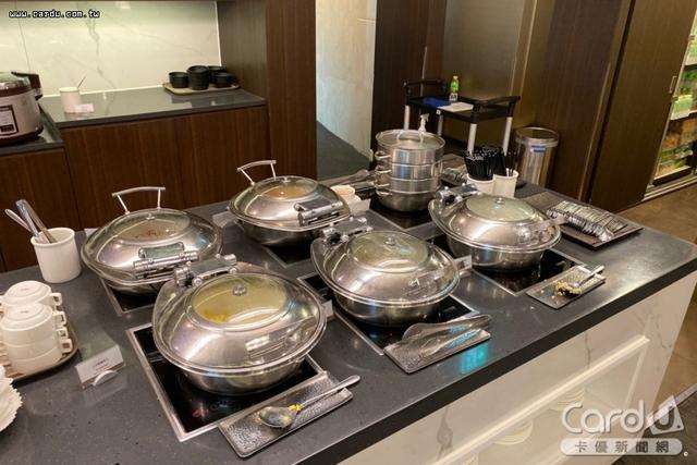 首爾仁川機場Sky Hub Lounge貴賓室 Buffet