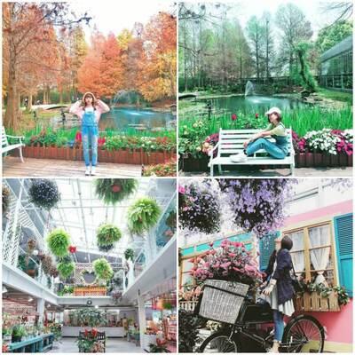菁芳園 中台灣走春景點