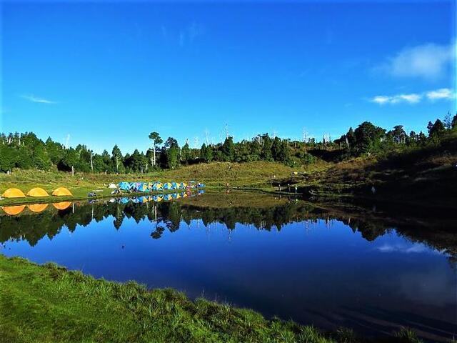 加羅湖 露營 日出 跨年