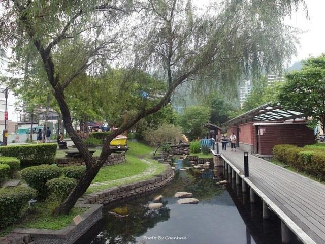 宜蘭景點 礁溪湯圍溝公園