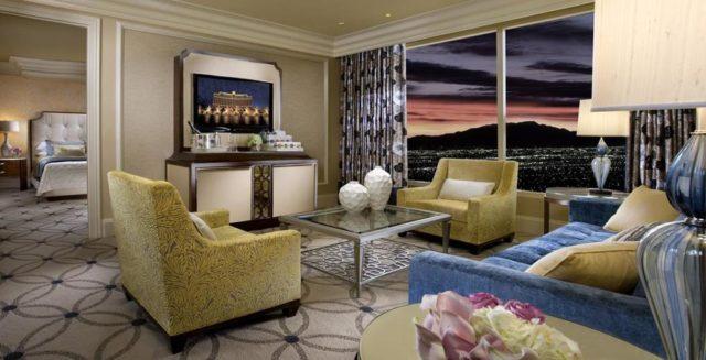 拉斯維加斯 百樂宮酒店 房間內部