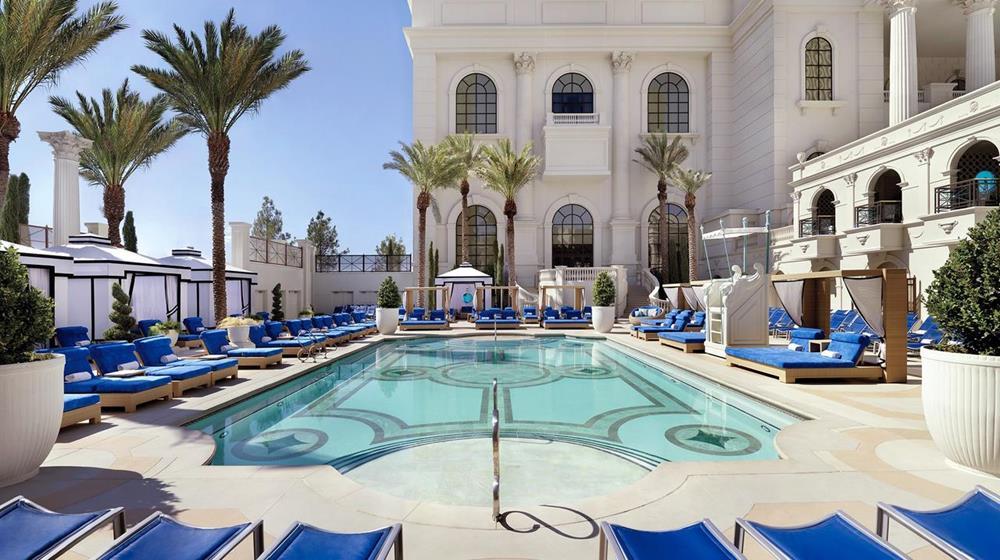 拉斯維加斯 凱薩宮酒店 游泳池