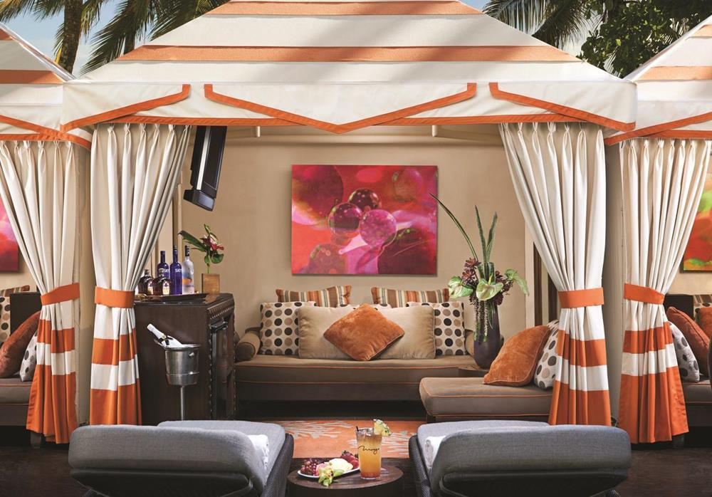 拉斯維加斯 The Mirage 房間內部