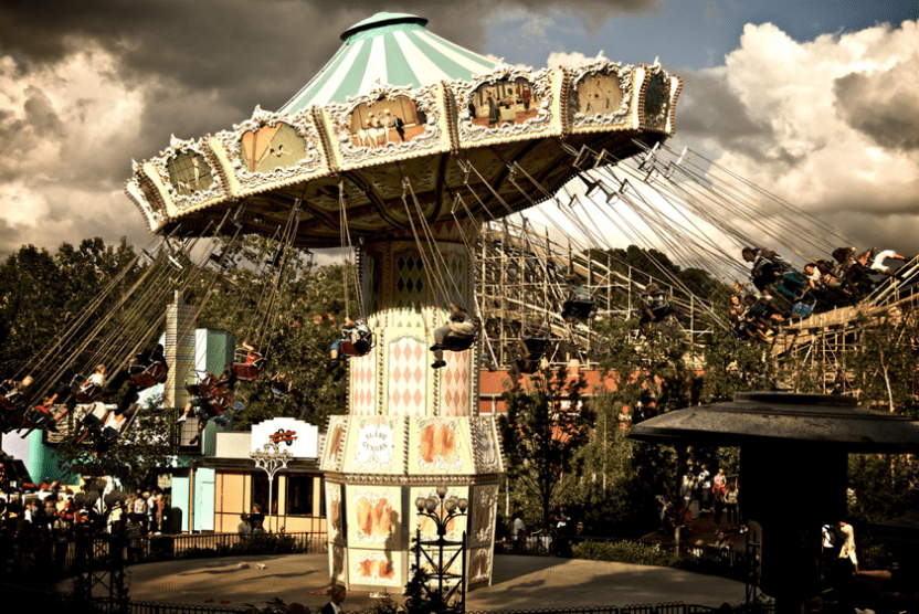 瑞典 里瑟本遊樂園-Liseberg
