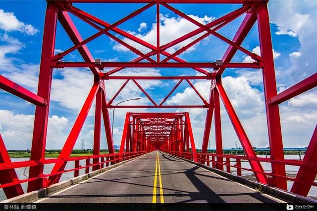 西螺大橋,因為外觀美麗,常吸引大家慕名而來