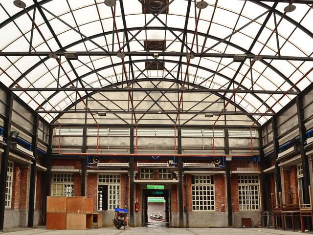 具有百年歷史的公有市場,曾經是北斗最熱鬧的零售市場,