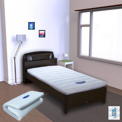 【富郁床墊】4D透氣獨立筒彈簧床墊9cm