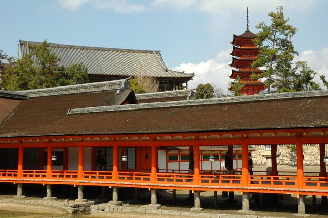 豐國神社(五重塔與千疊閣)
