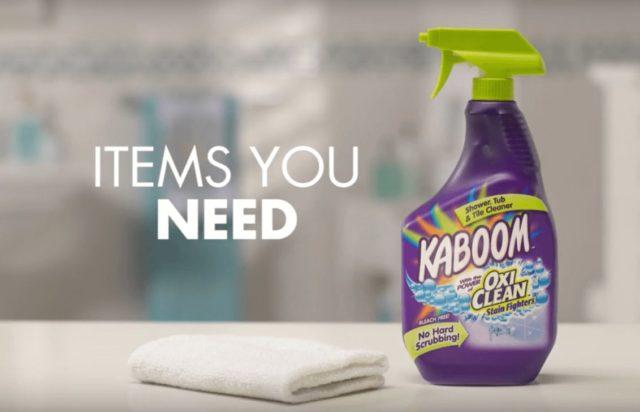 美國原裝 KABOOM 浴廁磁磚清潔劑