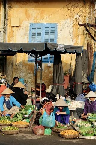 遊歷越南傳統市場