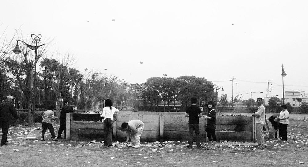 清明節掃墓