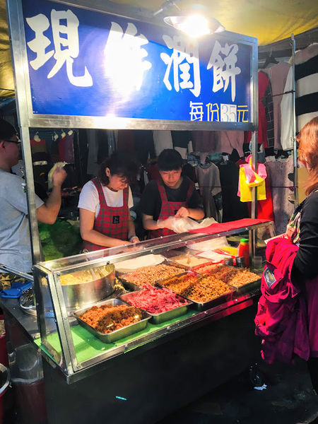 竹東市場潤餅