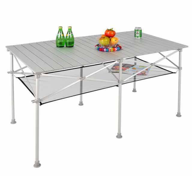 LIFECODE 長型鋁合金折疊桌