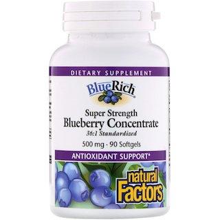 Natural Factors 藍莓精華