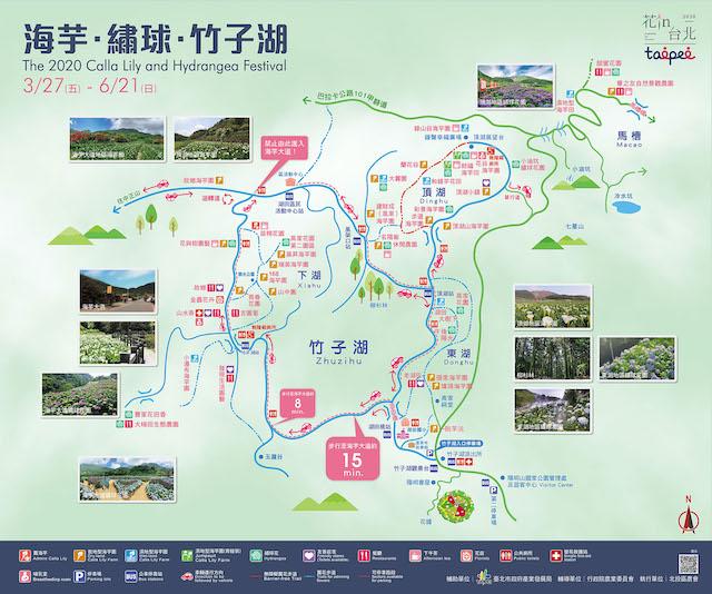 2020陽明山海芋季節
