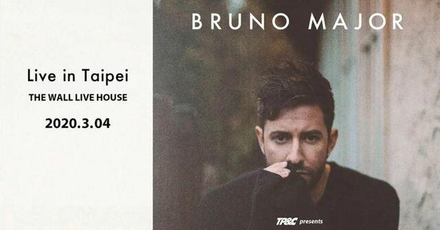 Bruno Major Live in Taipei 2020