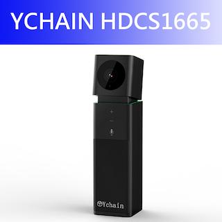 YCHAIN HDCS1665-USB HD攝影機麥克風喇叭3 in 1視訊會議機