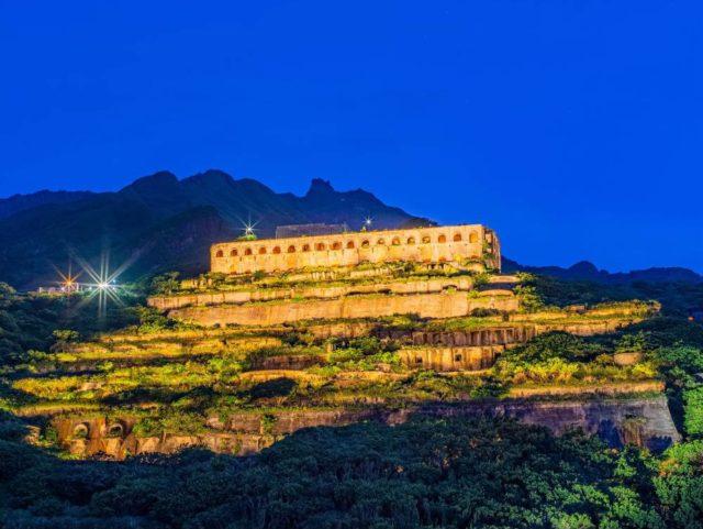 秘魯馬丘比丘 – 東北角水湳洞十三層遺址