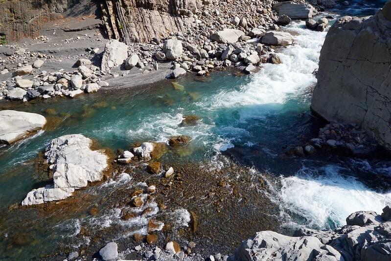 新竹秀巒野溪溫泉