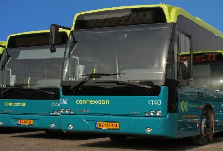 荷蘭搭乘機場快線公車