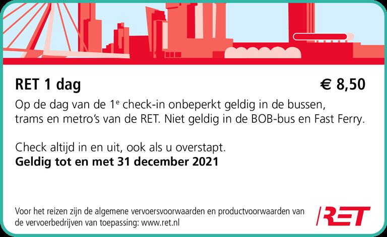 鹿特丹交通優惠票卡