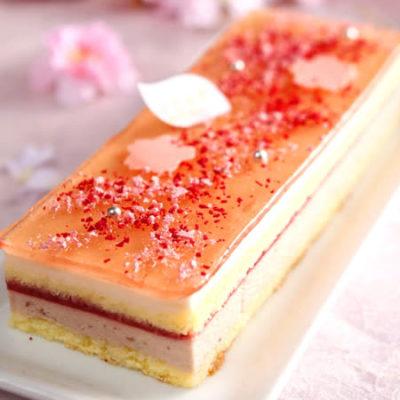 櫻花盛開時 櫻花蛋糕