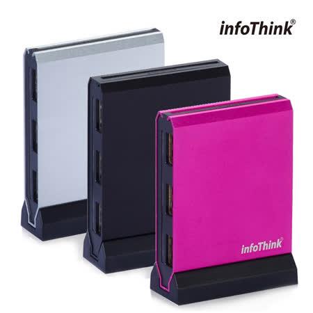 InfoThink 直立式 ATM x HUB 多合一片讀卡機