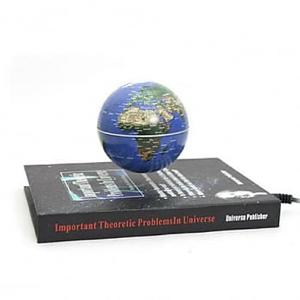 賽先生科學工廠書本造型/飄浮地球儀 附定位環